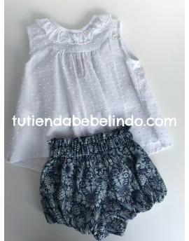 Conjunto niña braga y camisa Dior