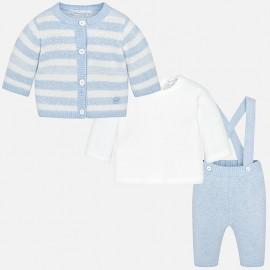 Conjunto pantalón, camiseta y rebeca Mayoral
