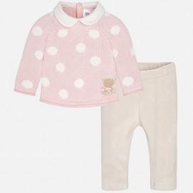 Conjunto pantalón y jersey niña Mayoral