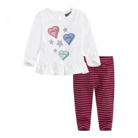 Conjunto niña leggings y camiseta Bbray Canada House