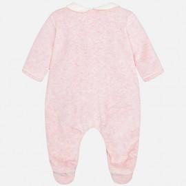 Pijama bebé rosa Mayoral