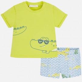 Conjunto baño camiseta y bañador Mayoral