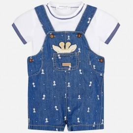 Conjunto Peto niño con camiseta Mayoral