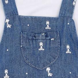 Conjunto falda con camiseta y diadema Mayoral
