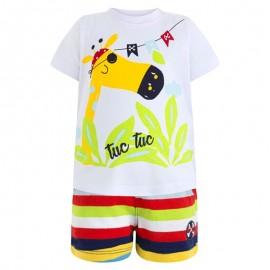 Conjunto niño bermuda y camiseta Pirates Tuc tuc