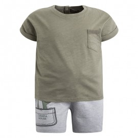 Conjunto niño pantalón corto y camiseta Bbfriend Canada House