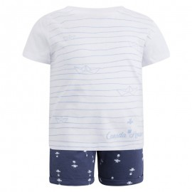 Conjunto niño pantalón corto y camiseta Bbtot Canada House