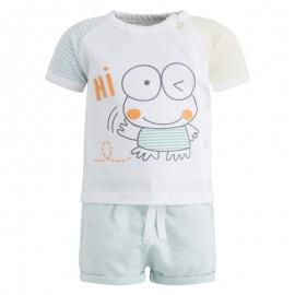 Conjunto bebé pantalón corto y camiseta Minipond Canada House