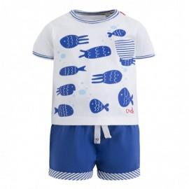 Conjunto niño camiseta y pantalón Miniglu Canada House