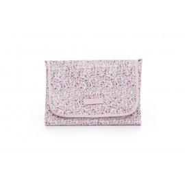 Cambiador polipiel flores rosas
