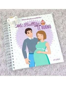 Diario del embarazo + chupete