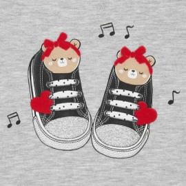 Vestido dibujo zapatillas Mayoral