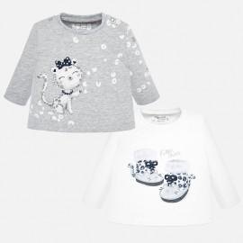 Camiseta manga larga niña Mayoral