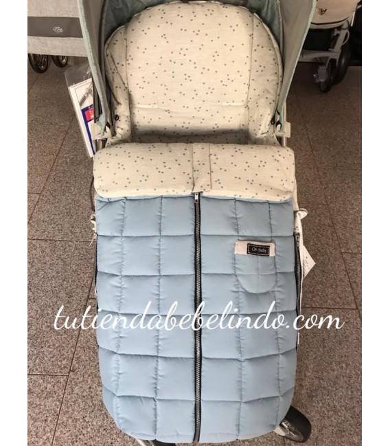 Saco silla universal azul Rosy Fuentes