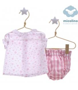 Conjunto 2 piezas Caramelo Micolino