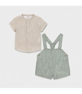 Conjunto pantalón corto y tirantes Mayoral (varios colores)