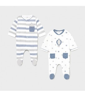 Pijama punto recién nacido Mayoral