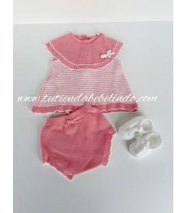 Conjunto algodón niña 2 piezas Mayoral