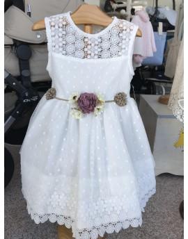 Vestido Blanco Cala