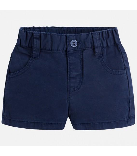Pantalón corto sarga básico navy