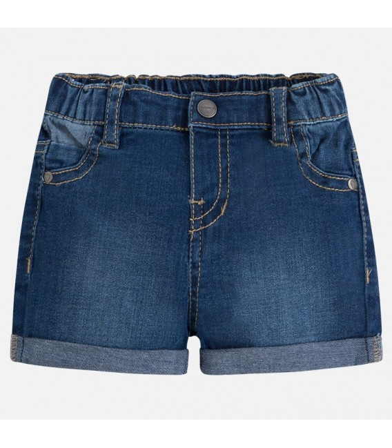 Pantalón corto tejano básico