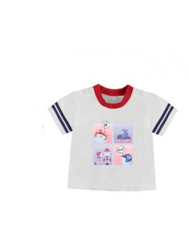 Camiseta manga corta blanca
