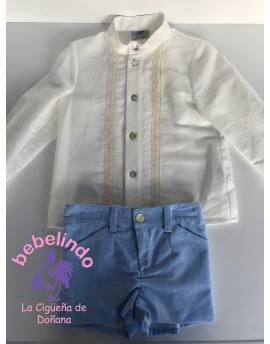 Conjunto camisa y pantalón Dalia